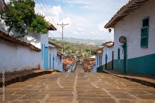 Sticker Village de Barichara, Santander, Colombie