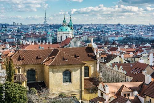 Poster Praag Beautiful Prague city, Czech republic