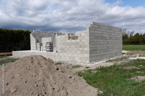 Foto Murales Construction maison