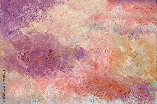tlo-obraz-olejny-wiosna-zmierzchu-niebo-z-chmurami