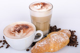 Good Morning, good start into the day: Enjoy your breakfast with coffee and croissants :) - 198620240