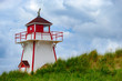 The famous Covehead Lighthouse on Prince Edward Island survived the Yankee Gale of 1851