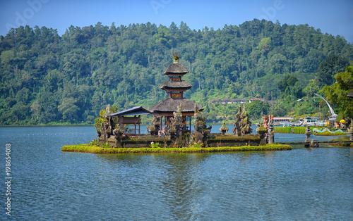 Keuken foto achterwand Bali Pura ulun danu bratan temple in Bali, indonesia.