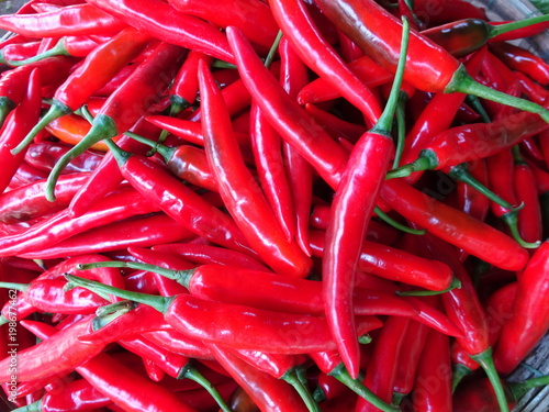 Plexiglas Hot chili peppers STRONG PASSION