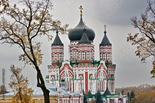 Foto op Plexiglas Kiev The Cathedral of St. Panteleimon in Kiev
