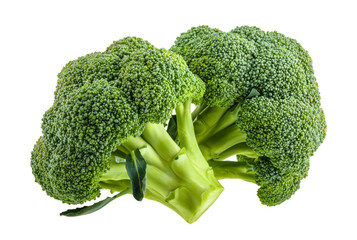 broccoli isolated on white without shadow © azure