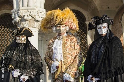 Foto op Plexiglas Venetie Venice Carnival - The Masks