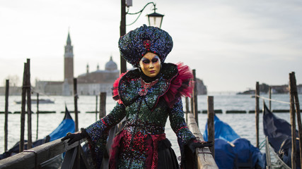 Venice Carnival - The Masks