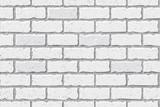 Texture of white brick, seamless, brick background. Pattern.