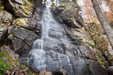 waterfall bystre in  Polana