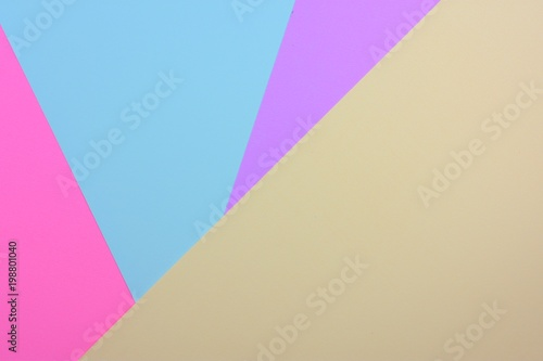 Abstract colorful paper layer background with pink blue sky mallow and purple tones