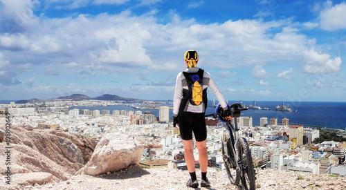 Staunting over Las Palmas de Gran Canaria