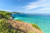 Beautiful island in north andaman sea,clear water,summer vacation