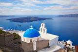 View of the island of Santorini, Greece