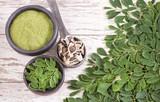 Moringa nutritional plant - Moringa oleifera - 198845451