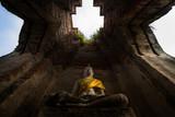 Buddha ancient, Nakorn luang Temple, Ayutthaya, Thailand - 198850252