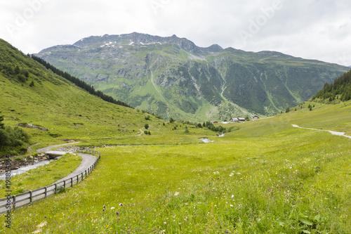 Summer Valley Near Galtuer, Austria