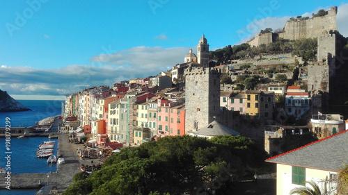 Fotobehang Liguria panorama of Portovenere