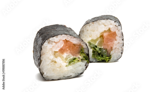 Foto op Plexiglas Sushi bar sushi isolated