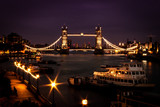 Tower Bridge, London and river Thames