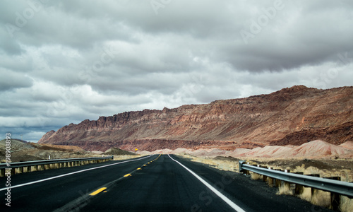 Keuken foto achterwand Route 66 Route 66 Desert Road