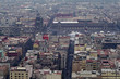 ラテンアメリカタワーから見るソカロ広場