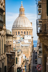 St Paul Cathedral in Valletta,Malta