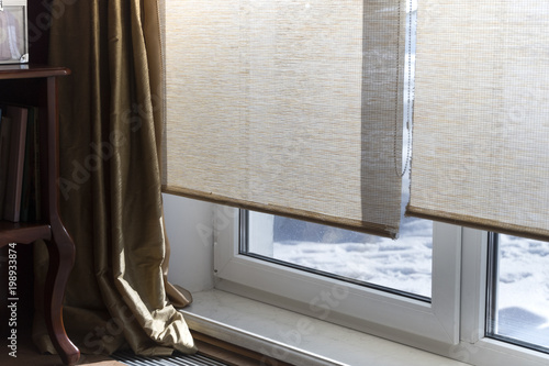 Foto Murales Blinds On Window