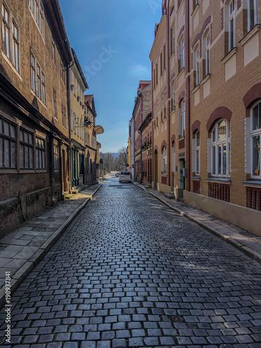 Foto op Plexiglas Smal steegje Altstadt von Rudolstadt