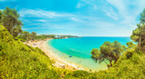 Beautiful tropical sea bay