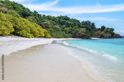 Keuken foto achterwand Tropical strand Tropical beach at andaman sea, Island in Myanmar.