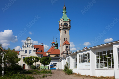 Sopot Lighthouse in Poland