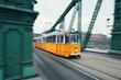 Tram in motion - 198990646