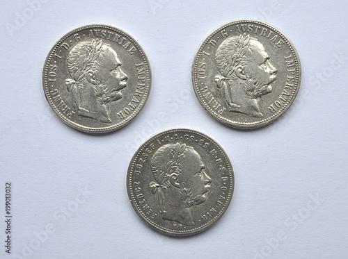 stare srebrne monety, Austria i Węgry