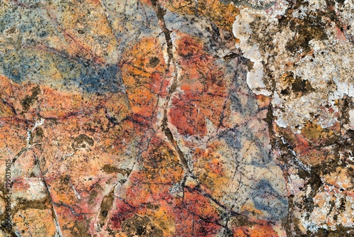 Foto op Plexiglas Stenen motley abstract texture of a stone