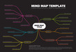 Vector abstract mind map infographic template