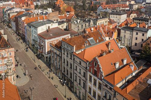 Panorama of the polish town, Torun - 199056895