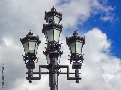 Streetlights in Moscow