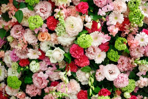 Foto Murales たくさんの花