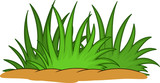 sweet grass leaf cartoon