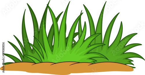 sweet grass leaf cartoon