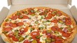 Pizza Pepperoni Italian Pizza - 199084030