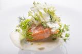Salmon and broccoli - 199095699
