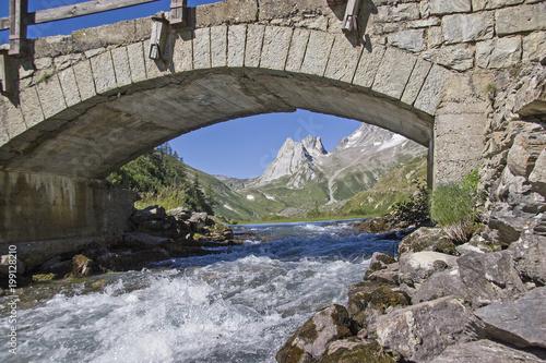 Steinbrücke im Val Veny - 199128210