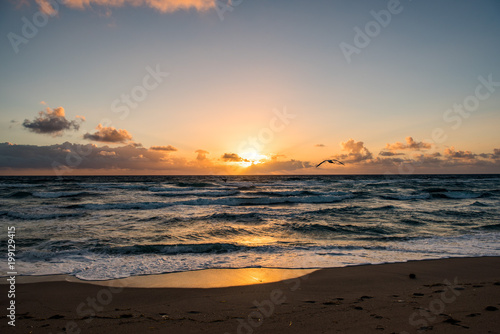 Foto op Canvas Zee zonsondergang Palm Beach, FL Sunrise