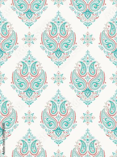 Mandala. Ethnic motifs vector seamless pattern - 199142081