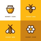 Four honey logo.