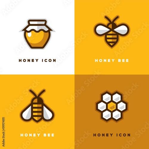 Four honey logo.