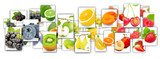 Fruit Mix Rectangles