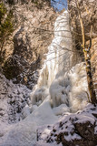 frozen waterfall ice